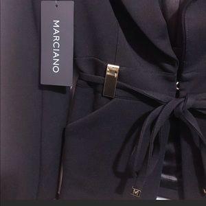 Marciano gold hardware blazer set